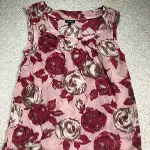Talbots silk tank top